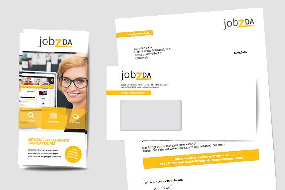 jobzDA Corporate Design